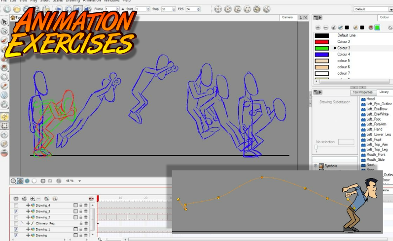 Toon Boom Character Design Tutorial : Toon boom animate character animation package